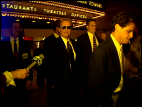 Jack Nicholson at the 'Mary Shelley's Frankenstein' Premiere on November 1 1994