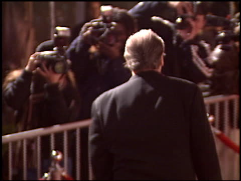 jack nicholson at the 'spanglish' premiere on december 9 2004 - spanglish stock videos & royalty-free footage