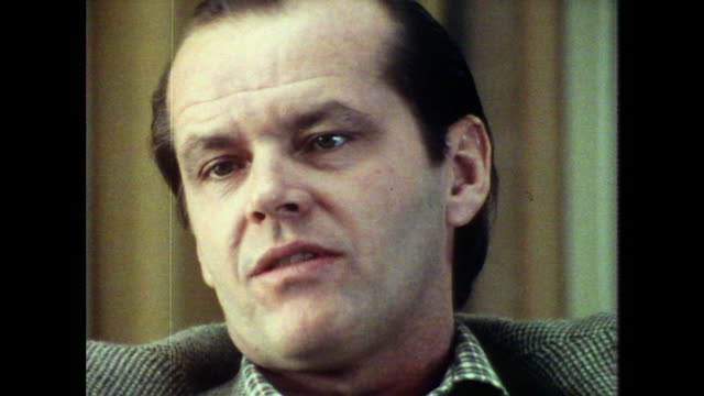 jack nicholson on his father saying 'he was a nice mild gentleman' - political party stock videos & royalty-free footage