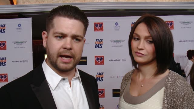 interview jack osbourne on what the event means to him personally why he felt it was important to come forward and discuss ms publicly what he and... - race to erase ms stock videos and b-roll footage