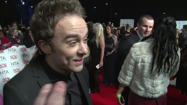 interview jack p shepherd on current work colleagues and hollywood potential at the o2 arena on january 25 2017 in london england - shepherd stock videos & royalty-free footage