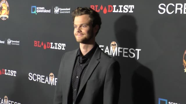 Jack Quaid at the 2017 Screamfest Horror Film Festival Premiere Of 'Tragedy Girls' on October 15 2017 in Hollywood California
