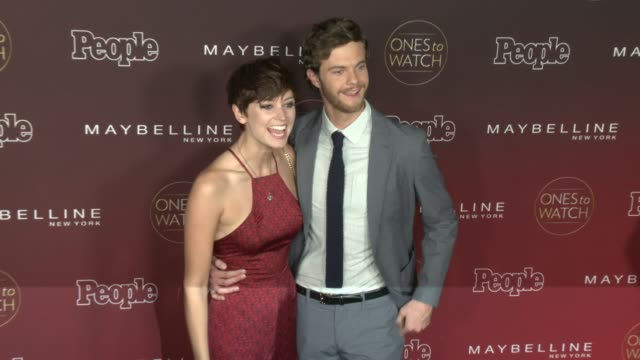 Jack Quaid Lizzy McGroder at People's 'One To Watch' Celebration in Los Angeles CA