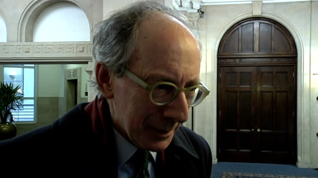 Jack Straw and Malcolm Rifkind suspended over 'cash for access' claims ENGLAND London Westminster INT Sir Malcolm Rifkind MP interview SOT many...