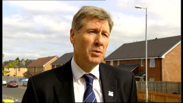 jack straw declines invitation to give evidence to us senate inquiry into release of lockerbie bomber scotland ext kenny macaskill interview sot the... - jack straw stock videos and b-roll footage