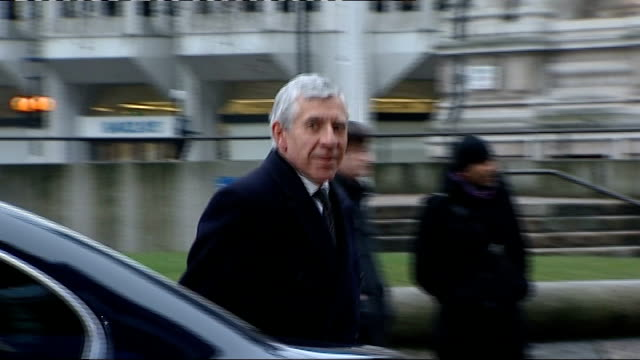 jack straw faces legal action over rendition claim 2222006 photography *** straw from car as photographed by press - jack straw stock videos & royalty-free footage