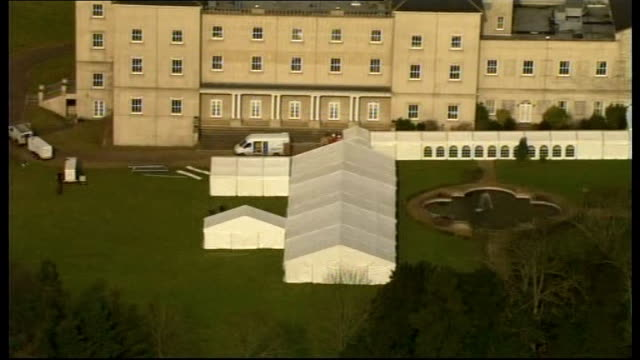 jack straw intervenes to allow jade goody and fiance to spend wedding night together hertfordshire hatfield down hall country house hotel wedding... - fiancé stock videos & royalty-free footage