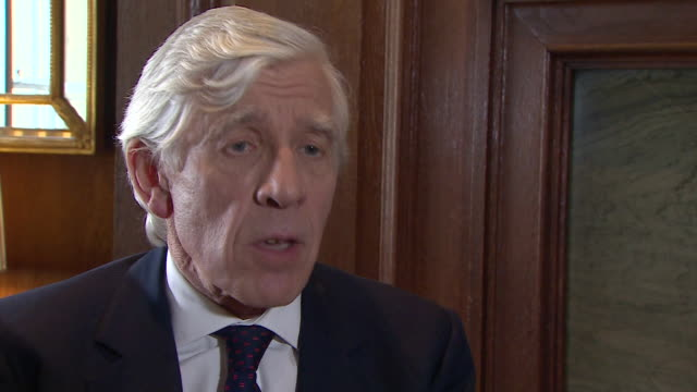jack straw saying that he grieves and feels a great burden for the families of people who died during the iraq war - jack straw stock videos & royalty-free footage
