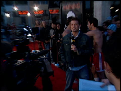 jackass the movie premiere at the 'jackass: the movie' premiere at the cinerama dome at arclight cinemas in hollywood, california on october 21, 2002. - arclight cinemas hollywood stock videos & royalty-free footage
