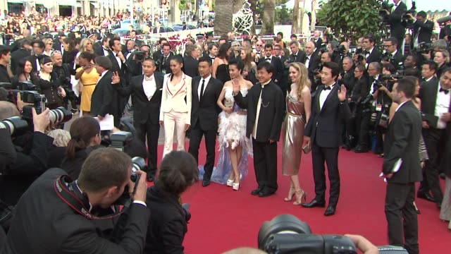 Jackie Chan at De Rouille et D'os Premiere 65th Cannes Film Festival on May 17 2012 in Cannes France De Rouille et D'os Premiere 65th Cannes Film...