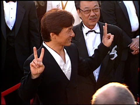 Jackie Chan at the 1996 Academy Awards Arrivals at the Shrine Auditorium in Los Angeles California on March 25 1996