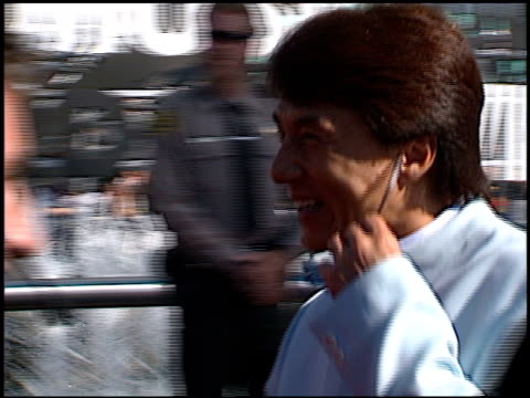 Jackie Chan at the 1998 MTV Video Music Awards entrances at Universal Amphitheatre in Universal City California on September 10 1998