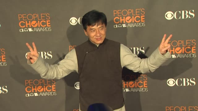Jackie Chan at the 36th Annual People's Choice Awards at Los Angeles CA