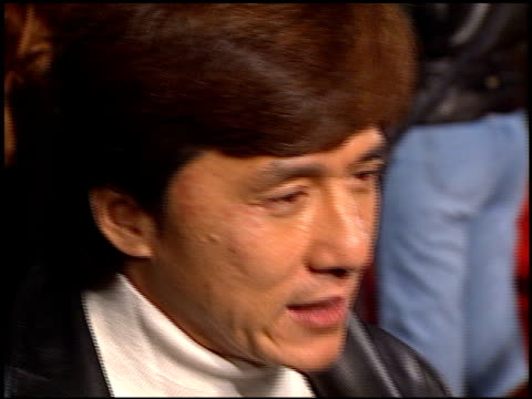 Jackie Chan at the 'Broken Arrow' Premiere on February 5 1996