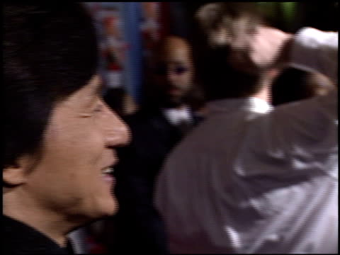Jackie Chan at the 'Shanghai Knights' Premiere at the El Capitan Theatre in Hollywood California on February 3 2003