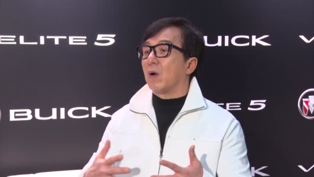 jackie chan attends press conference on apeil 18, 2017 in shanghai, china. - jackie chan stock videos & royalty-free footage