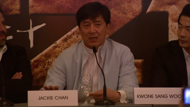 Jackie Chan on his ambitions trying to break his type cast internet reviews working with Brett Ratner on trying to make something different at...