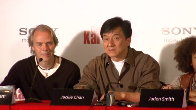 jackie chan on his first taste of hollywood and his experiences when making his early hollywood films; his style of kung fu was too fast for the... - jackie chan stock videos & royalty-free footage