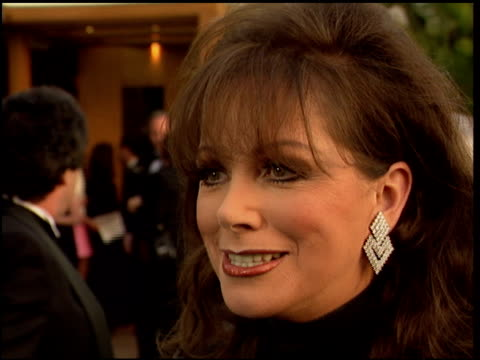 jackie collins at the 1996 academy awards vanity fair party at morton's in west hollywood, california on march 25, 1996. - 68th annual academy awards stock videos & royalty-free footage