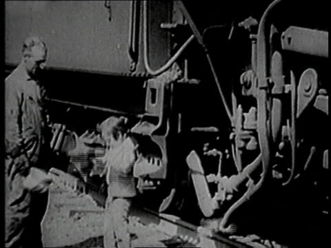 jackie coogan riding a train in the engineer's cabin / harmon new york united states - 1918 stock videos and b-roll footage