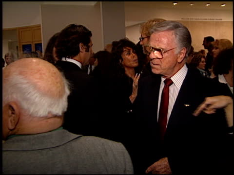 jackie cooper at the judy garland biography party at the museum of television and radio in beverly hills, california on march 12, 1997. - judy garland stock videos & royalty-free footage