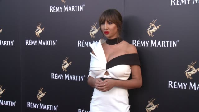 jackie cruz at rémy martin hosts a special evening with jeremy renner and fetty wap celebrating the exceptional in los angeles, ca 6/15/17 - wap stock videos & royalty-free footage