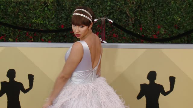 Jackie Cruz at the 24th Annual Screen Actors Guild Awards at The Shrine Auditorium on January 21 2018 in Los Angeles California