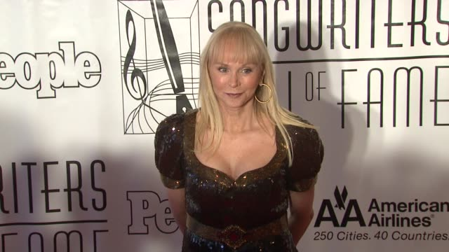 jackie deshannon at the songwriters hall of fame 2010 annual awards gala at new york ny - hall of fame stock videos and b-roll footage