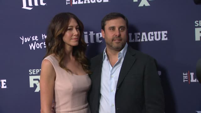 Jackie Marcus Schaffer and Jeff Schaffer at the Premiere of FXX's The League Final Season and You're The Worst 2nd Season at Regency Bruin Theater on...