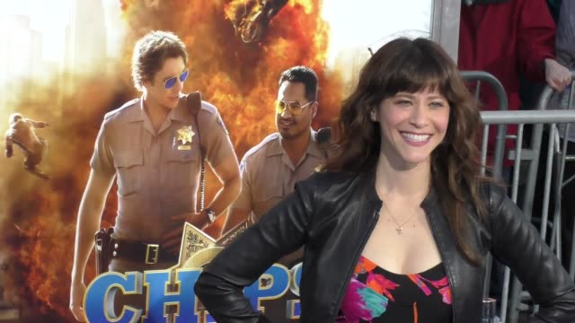 "jackie tohn at the ""chips"" los angeles premiere at tcl chinese theatre on march 20, 2017 in hollywood, california. - tcl chinese theatre stock videos & royalty-free footage"