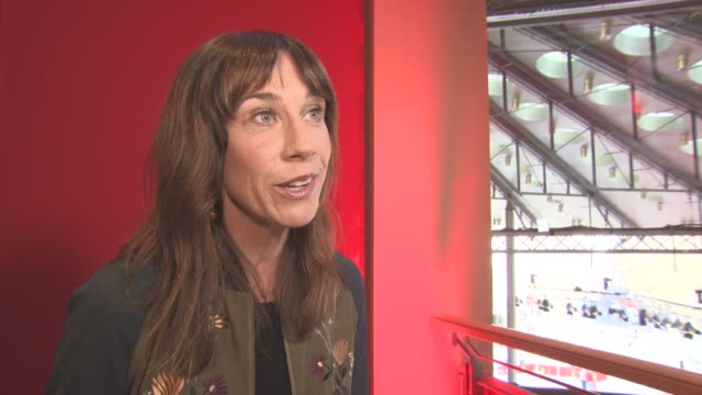 INTERVIEW Jackie van Beek on the idea for the film at Berlin Film Festival 'The Inland Road' Interviews at Berlinale Palast on February 16 2017 in...