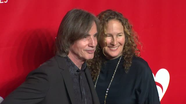 jackson browne at 2014 musicares person of the year honoring carole king at los angeles convention center on in los angeles california - musicares foundation stock videos & royalty-free footage