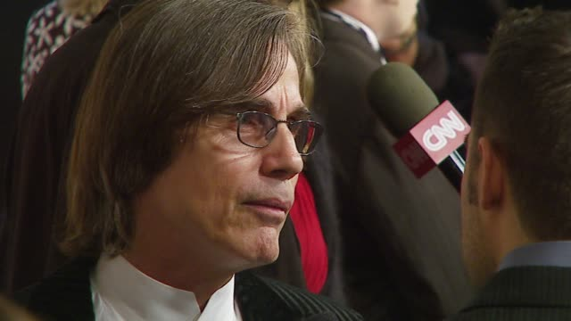 stockvideo's en b-roll-footage met jackson browne at the musicares person of the year at la convention center in los angeles california on february 9 2007 - los angeles convention center