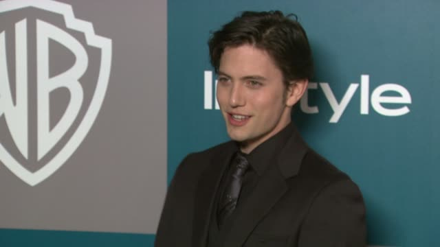 jackson rathbone at the 13th annual warner bros and instyle golden globe afterparty in beverly hills ca on 1/15/12 - warner bros stock videos & royalty-free footage