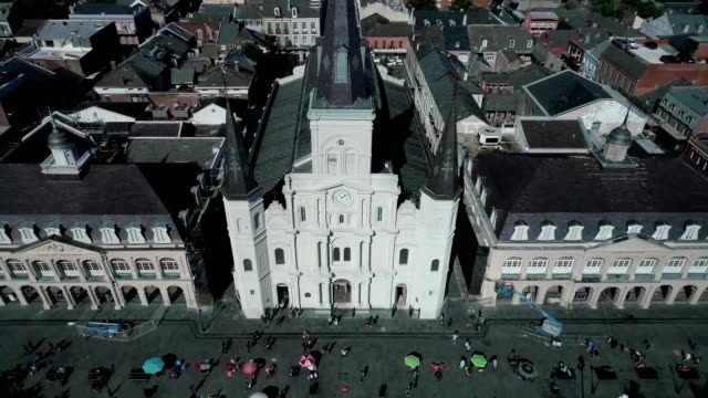 Jackson Square in French Quarter of New Orleans Louisiana