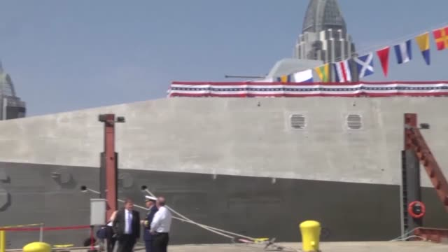 uss jackson will play a key role in the us military's rebalancing of strategy to the asiapacific region - stapellauf stock-videos und b-roll-filmmaterial
