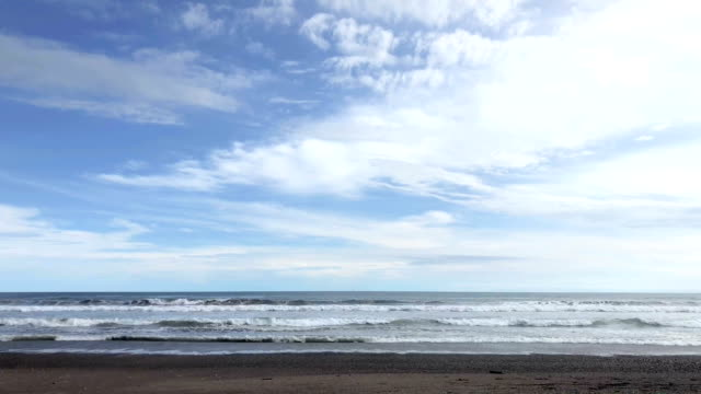 Jaco Beach coastline in Costa Rica
