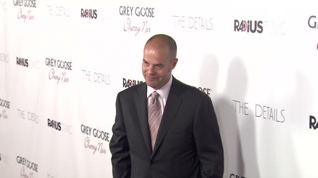jacob aaron estes at grey goose vodka hosts 'the details' premiere in hollywood 10/29/12 - grey goose vodka stock videos & royalty-free footage