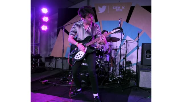 Jacob Bryant of The Brummies performs onstage at Twitter Event during the 2019 SXSW Conference and Festivals at Lustre Pearl on March 11 2019 in...
