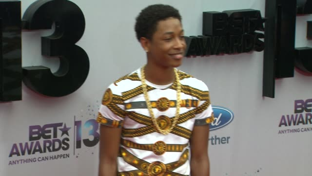 Jacob Latimore at BET 2013 Awards Arrivals on 6/30/13 in Los Angeles CA