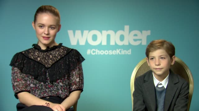Interview Jacob Tremblay And Izabela Vidovic On Their New Film At Stock Footage Video Getty Images
