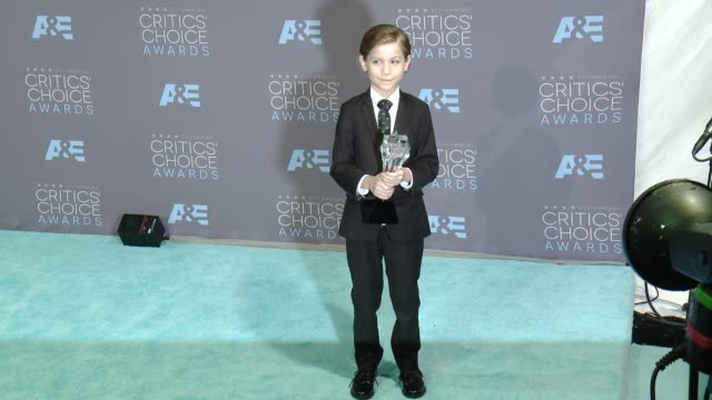 Jacob Tremblay at 21st Annual Critics' Choice Awards in Los Angeles CA
