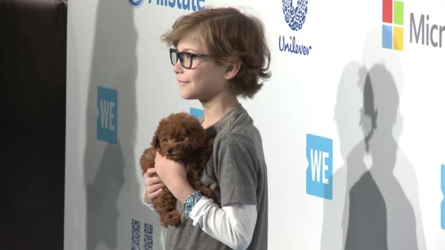 jacob tremblay at we day california at the forum on april 07 2016 in inglewood california - inglewood stock videos and b-roll footage