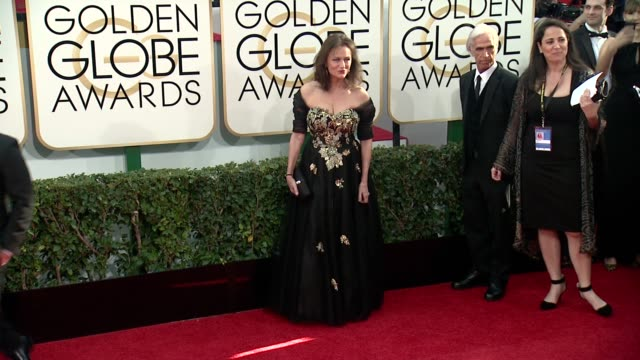 jacqueline bisset at the 71st annual golden globe awards - arrivals at the beverly hilton hotel on in beverly hills, california. - the beverly hilton hotel stock videos & royalty-free footage