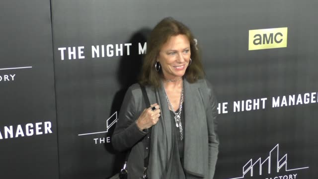 vidéos et rushes de jacqueline bisset at the premiere of amc's the night manager at dga theatre in west hollywood at celebrity sightings in los angeles on april 05, 2016... - directrice