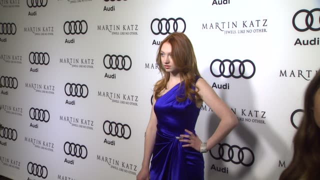Jacqueline Emerson at the Audi And Martin Katz Celebrate The 2012 Golden Globe Awards in West Hollywood CA