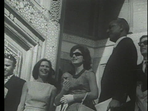 jacqueline kennedy watches a high divers in greece. - jackie kennedy stock videos & royalty-free footage