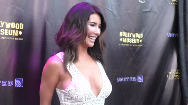 Jacqueline MacInnes Wood at the 2016 Daytime Emmy Awards Nominees Reception at The Hollywood Museum in Hollywood in Celebrity Sightings in Los Angeles