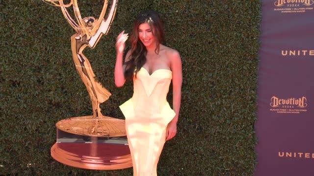 Jacqueline MacInnes Wood at the 44th Annual Daytime Emmy Awards at Pasadena Civic Auditorium on April 30 2017 in Pasadena California
