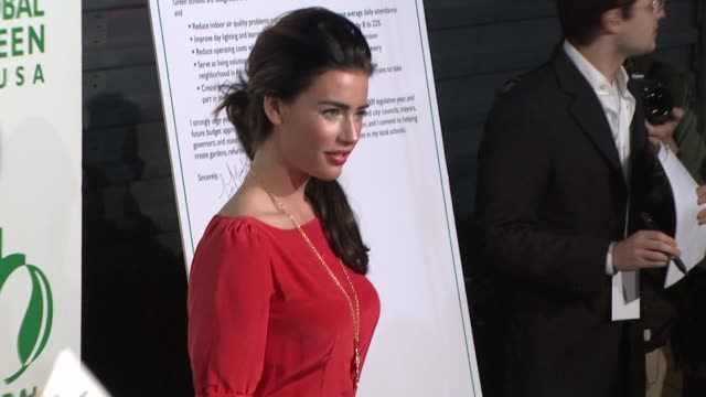jacqueline macinnes wood at the global green usa's 6th annual preoscar party benefiting green schools at los angeles ca - pre party stock videos and b-roll footage